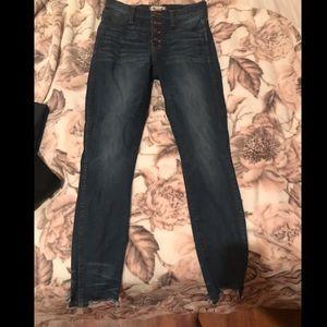 EUC Madewell skinny jeans